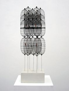 'Bagdad II' (1968)  by German sculptor & painter Günther Haese (b.1924). 54 x 21.5 x 20 cm. ty, orgone design. via Sfeir-Semler Gallery