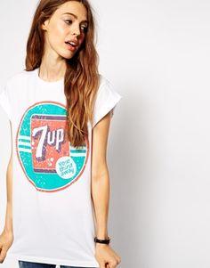 ASOS T-Shirt with 7 UP Print