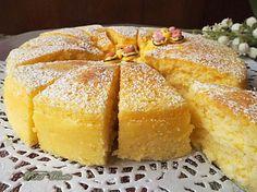 Torta al cioccolato bianco con tre ingredienti: una golosissima torta molto soffice e realizzata solo con #cioccolato bianco, uova