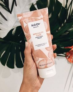 H2O+ Specialty Care Hand & Nail Cream   This ultra rich cream, containing Silk Proteins, Shea Butter, and Vitamin E, smooths and hydrates hands, nails, and cuticles. Always have the upper hand.