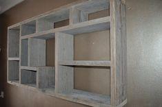 hout aan de muur   Letterbak steigerhout - 70x140cm   Gemaakt Bij Ons