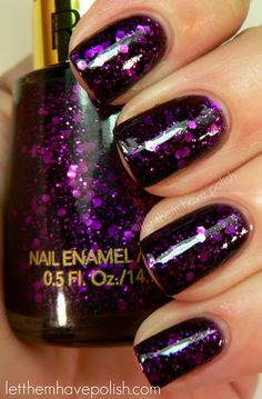 Let them have Polish!: 31 Day Challenge! Day 17- Glitter (Swatchy-Spam)