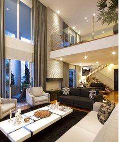 Modern house design - 37 interesting modern house interior ideas that you must see 3 – Modern house design Luxury Modern Homes, Luxury Home Decor, Luxury Interior, Interior Architecture, Dream Home Design, Modern House Design, Modern Interior Design, Interior Ideas, Modern Interiors
