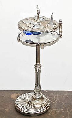1933 Chicago Worlds Fair Art Deco A Smoking Stand Ashtray with Stick Lighter | eBay