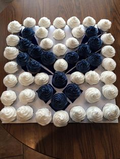 cupcakes for Air Force Retiree