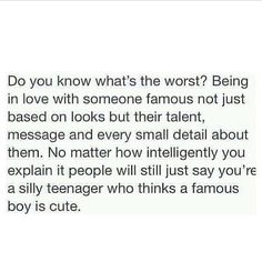 This is true, every time I try to explain to someone that I truly love Ashton people just laugh