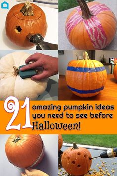 21 amazing pumpkin ideas you need to see before Halloween