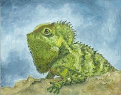 Iguana by Jeanne Gordon