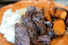 6/1/16 - Perfect Pot Roast Recipe!!! Wow!!! I usually make pot roast in my crock pot, but using my dutch oven made the meat even more tender. I would recommend using the red wine instead of broth though. It gives it a much richer flavor, but it's still yummy if you use broth. ~ Becky