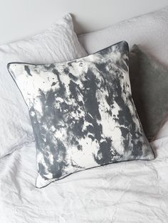Painterly Cushion - Grey - Decorative Home - Indoor Living