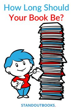 'How long is a book?' is a question without answer, right? No, not really.  #writingtip #forauthors #amwriting #amediting #writing  https://www.standoutbooks.com/how-long-book/