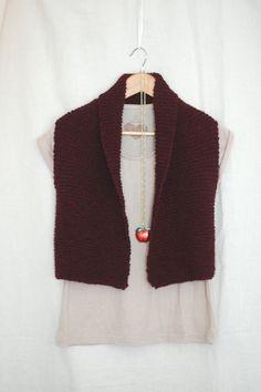 Easy Knit Vest   AllFreeKnitting.com