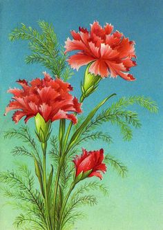 """Photo from album Марта"""" on Yandex. Tole Painting, Fabric Painting, Painting & Drawing, Watercolor Paintings, Pintura Tole, Art Drawings For Kids, Flower Pictures, Flower Wallpaper, Botanical Prints"""