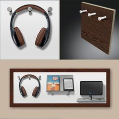 Even as a media station makes the wallboard a good figure. KUBENO – The modular wallboard consists of frames and a selection of 20 modules. # Headphone holder # Furniture hall Hall shape Source by kubeno Hallway Shelf, Flur Design, Floating Nightstand, Shelves, Storage, How To Make, Home Decor, Diy, Mobile Charging Station