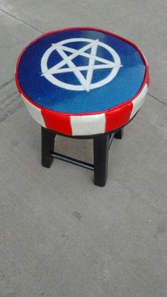 American occult, foot stool.