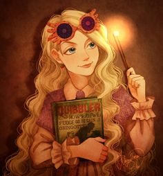 Luna Lovegood. Funny how you can fall in love with fictional characters.