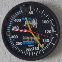 Reloj de Pared Indicador de Velocidad Aerodinámica EFIS Clocks, Wall Clocks, Tag Watches, Watch, Clock, The Hours