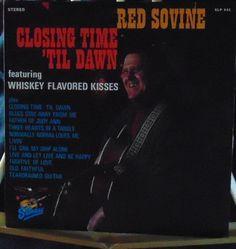 Red Sovine Lp Closing Time Till Dawn Near Mint #AlternativeCountryAmericanaContemporaryCountryEarlyCountryHonkyTonkTraditionalCountry