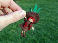 Waldorf Bendy Doll Gnome Sprout Child--For Sale by A Curious Twirl, via Flickr