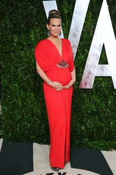 Pregnant Celebrities' Oscar Dresses: Our All-Time Favorite Looks