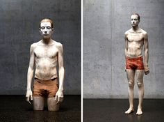 Astonishing Wooden Sculptures That Look Like Human Flesh