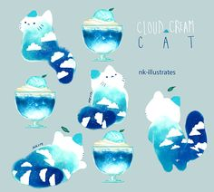 Cloud Cream Cat