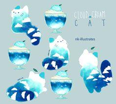 Cloud Cream Cat