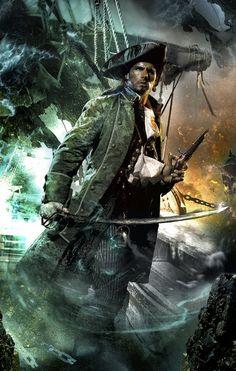 Pirata por Gene Mollica