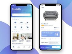 Rentickle app screens - App Templates - Ideas of App Templates - Rentickle app screens by Nitya Gupta Android App Design, Ios App Design, Mobile App Design, Hotel Booking App, App Home Screen, Ecommerce App, Web Design Icon, Mobile App Ui, Vintage Logo Design