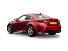 Lexus RC Coupe rear three quarter view