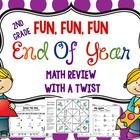 It's almost the end of the year! Use these fun math pages to review. They are not your typical math printables…this is math review with a twist!