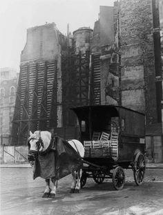 "París 1952 ""Plaza Beauveau"""