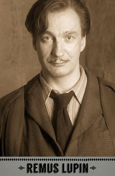 Remus Lupin, Defence Against the Dark Arts professor. #HarryPotter #Hogwarts #Gryffindor #Lupin