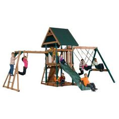 Backyard Play Systems Mongoose Manor - 4302