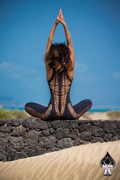 Catsuit WANETA for woman ripped and braided by Ça Déchire - Yoga - Burning man - festival - dance