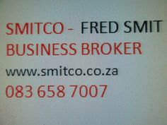 Rebuilt/Repairs engines , workshop fully equipped , net over R70 00, all assets included PRICE R1.15m. Listed by FRED SMIT, BROKER SMITCO, C...