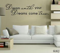 muurstickers dreams - Google zoeken
