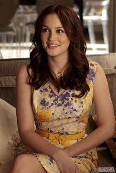 Leighton Meester as Blair Waldorf in Gossip Girl