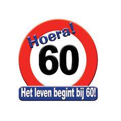 60 jaar worden