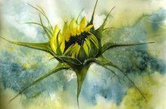 Naissance d'une fleur: tournesol - Marie-Jeanne Bronzini