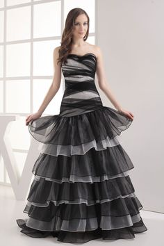 Sleeveless Ball Gown Sweetheart Zipper Crystals Ruffles Prom Dress AJW9997 $349.99 #prom #mywedding #bridalgown #ajw9997 #gown #weddingdress #sweetheart #dress #ball #ruffles #wedding #sleeveless #zipper #crystals #bridal