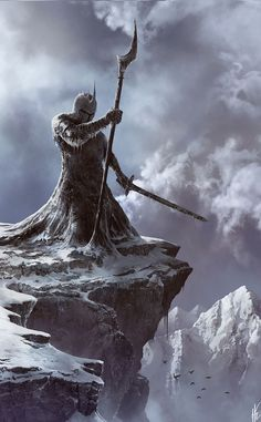 """cinemagorgeous: """"Winter Knight by artist Tiko Capdevila. """""""