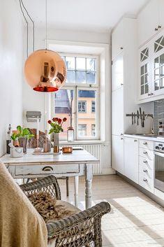 Garsonieră de 34 m² cu pat suspendat | Jurnal de design interior