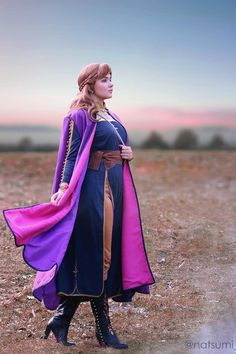 Get great deals with this 2019 Disney Movie Frozen 2 Frozen II Anna Cosplay Costume Princess Dress with high-quality. The Anna Cosplay Costume includes cloak, dress, trousers, belt, and bag. Cosplay Dress, Cosplay Outfits, Cosplay Costumes, Halloween Cosplay, Halloween Costumes, Halloween 2020, Princess Anna, Princess Zelda, Disney Princess