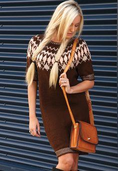Free Knitted Dress Pattern
