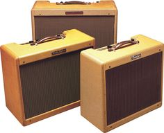 Fender Princeton, Deluxe, and Tremolux