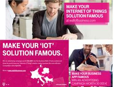 #DeutscheTelekomGroup announces #IoT solutions contest for #Austria #Croatia #Germany #Greece #Hungary #Macedonia #Romania #Slovakia
