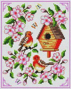 BIRDS - Free Patterns from Cross Stitchers Club