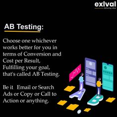 Do you use AB Testing?  #abtesting #abtest #googleadsense #googleads #fbads #fbmarketing #facebookads #facebookadvertising #facebookadstips #emailtips #contentmarketingtips #contenttesting #digitalmarketingtips #abtestingideas Data Science, Ab Testing, Software, Search Ads, Google Ads, Call To Action, Facebook, Digital Marketing, It Works