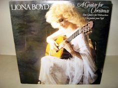 Liona Boyd - A Guitar For Christmas Canada 1981 Lp mint--